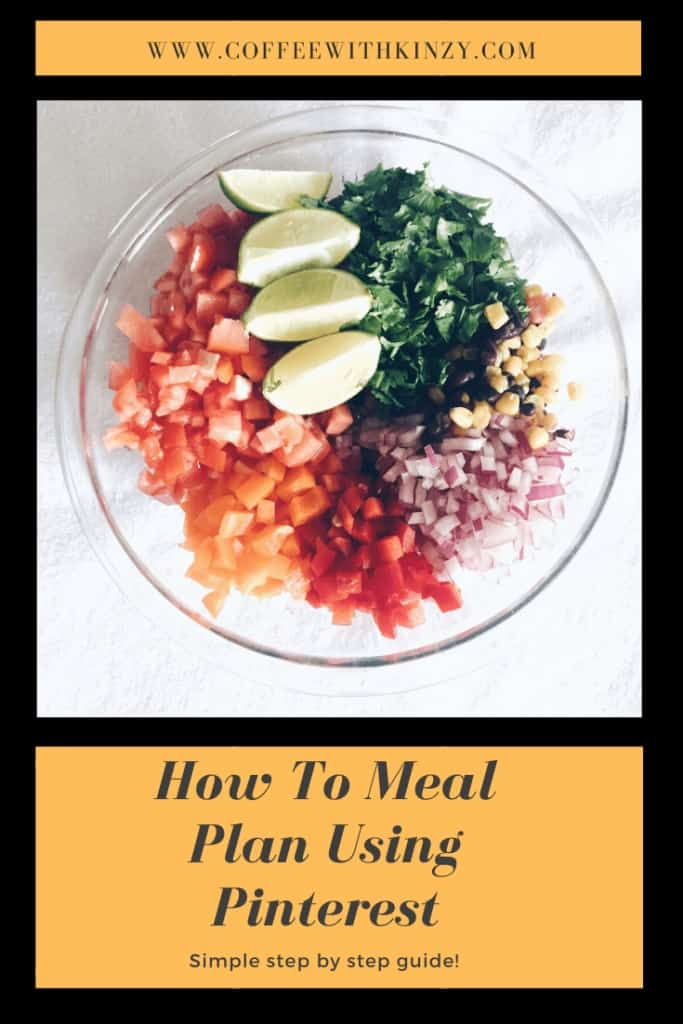How To Meal Plan Using Pinterest