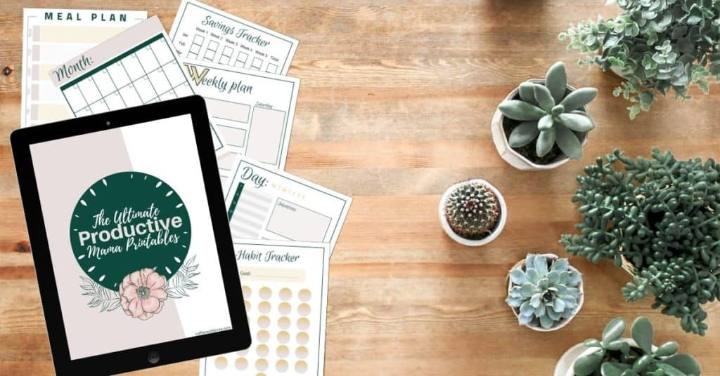 Free planner printables for moms preview
