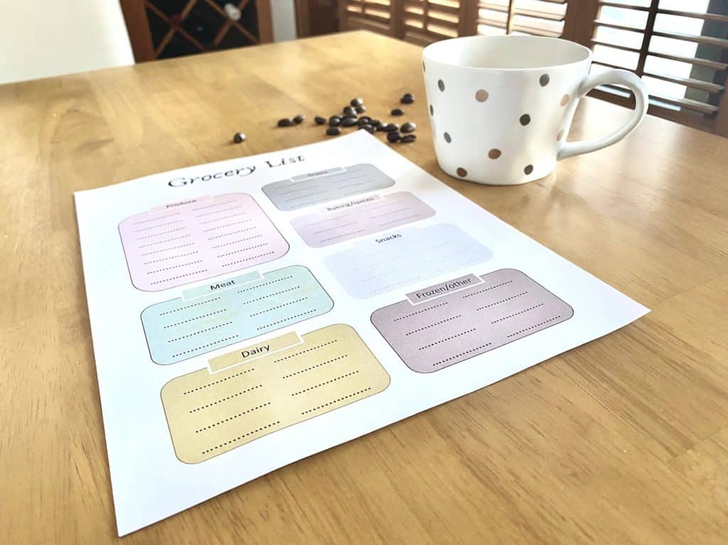 How to Simplify Meal Planning with Kids