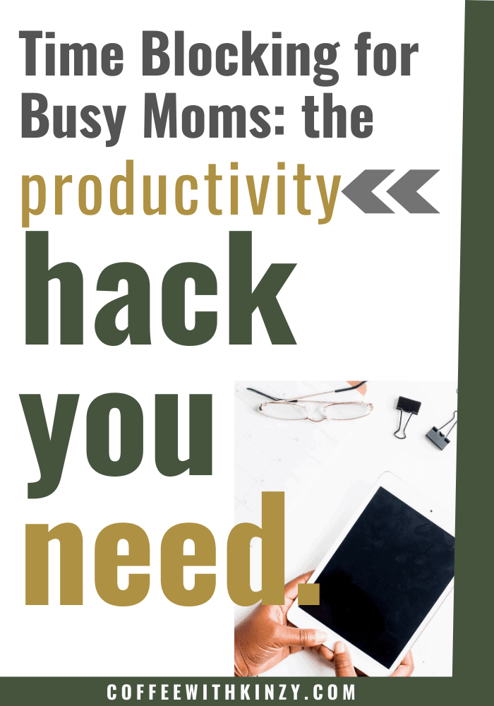 Effective Time Blocking for Busy Moms: Free Time Blocking Printable