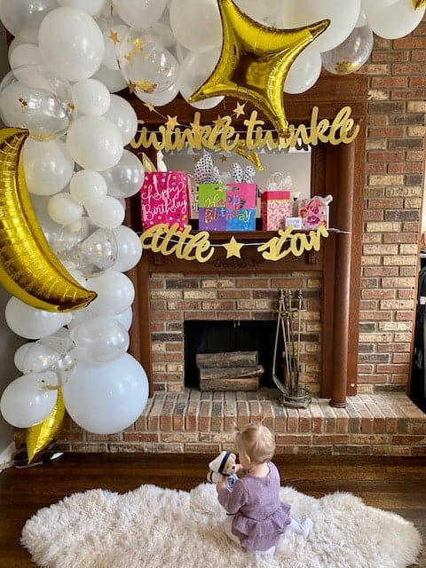 twinkle twinkle little star first birthday party theme idea