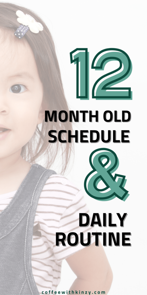 1 year old schedule and daily routine
