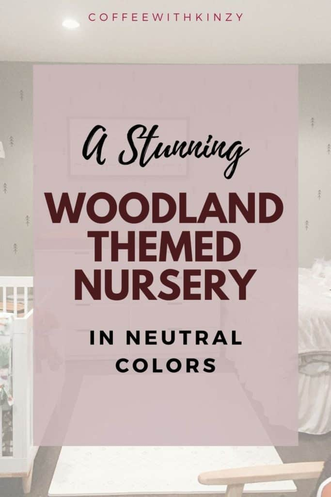 A Stunning, Whimsical Gender Neutral Woodland Nursery