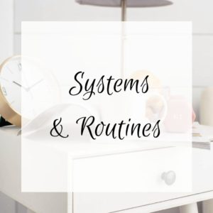 Systems and Routines feature