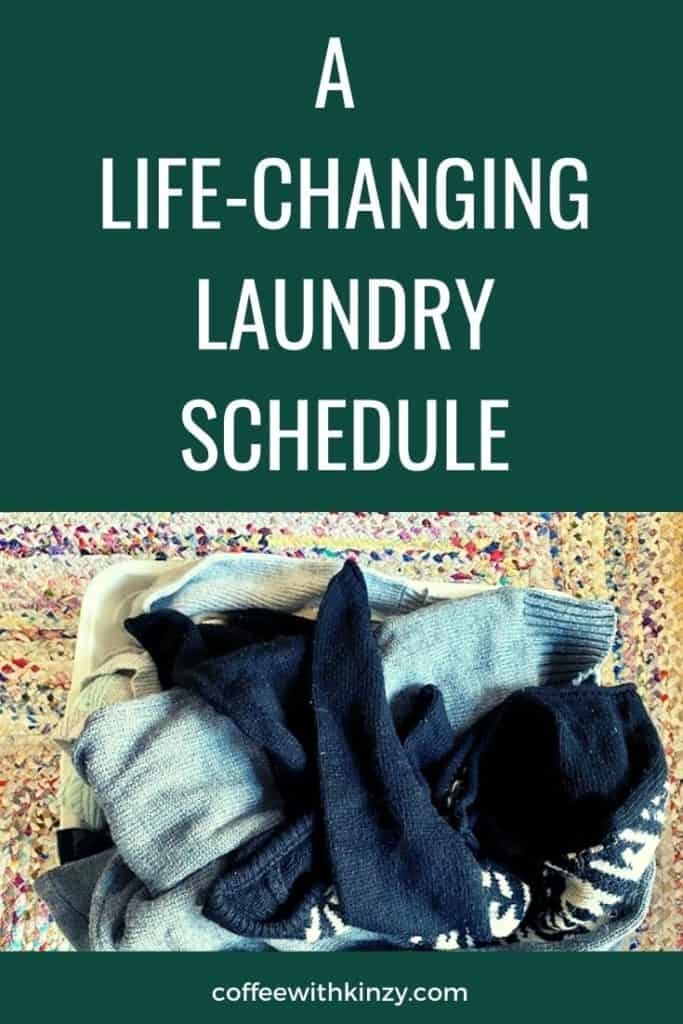 The family laundry system and family laundry schedule you need!