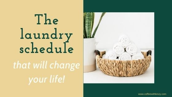 The Laundry Schedule That Will Change Your Life