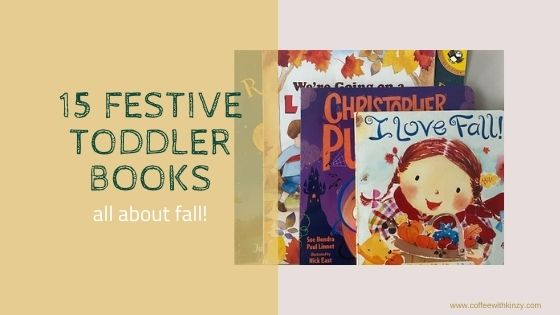 15 Toddler Books About Fall Feature Image