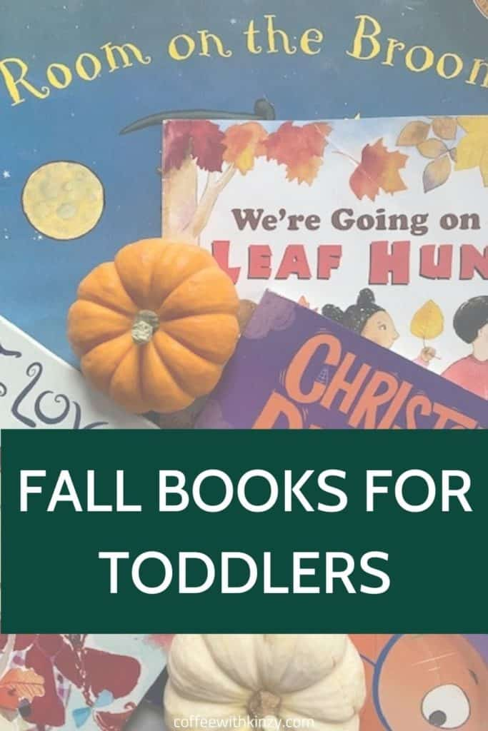Fall Books for Toddlers Pin