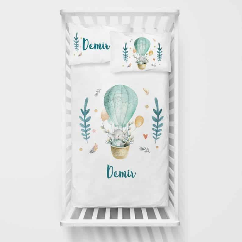 Personalized Baby Bedding