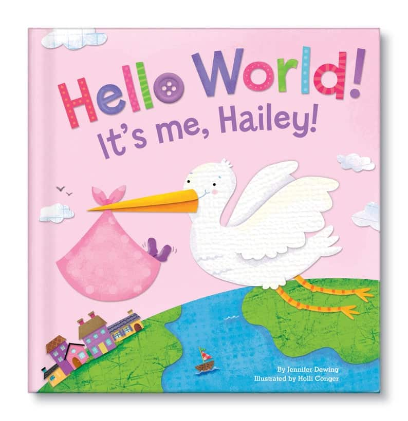 Personalized book for babies