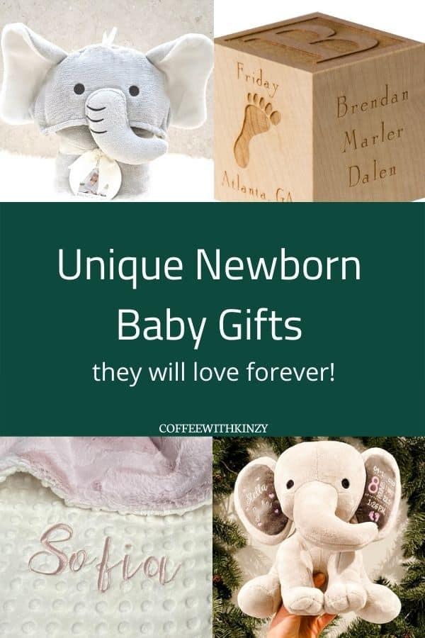 Personalized baby keepsakes on Etsy