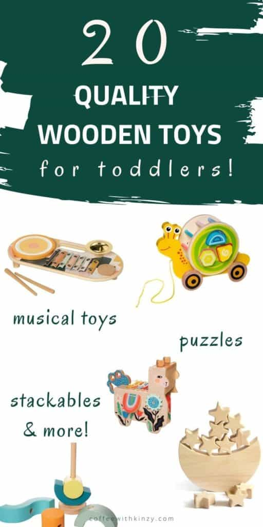 Best Wooden Toys for Toddlers of All Ages
