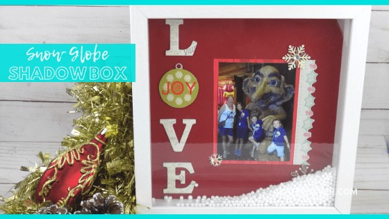 Snow Globe Shadow Box Gift for Grandparents
