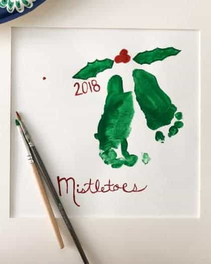 Mistletoes Homemade Gifts for Grandparents