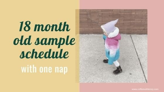18 month old schedule and daily routine