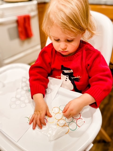 Christmas Dot Activity Printables for Toddlers