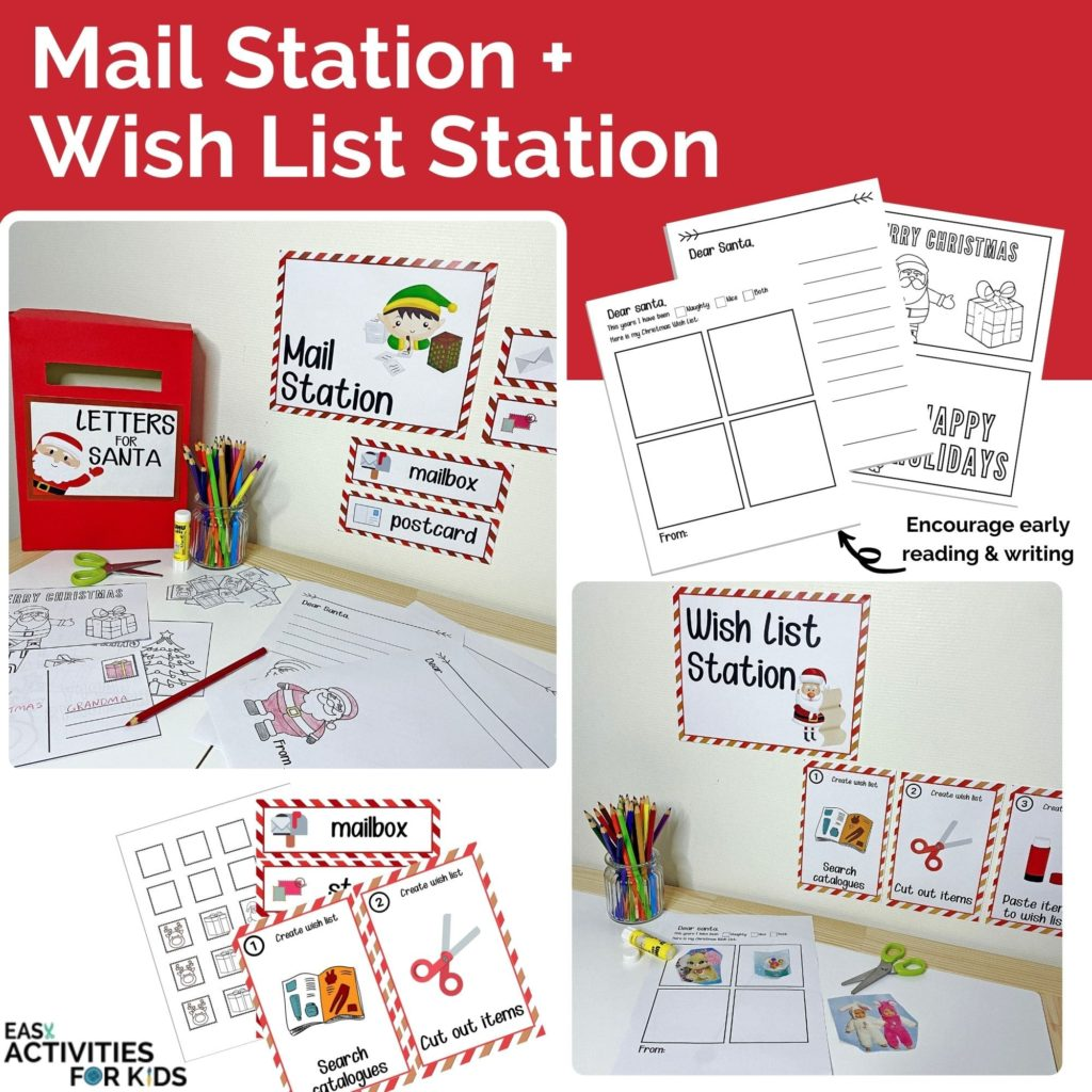 Mail Station and Wish List Station