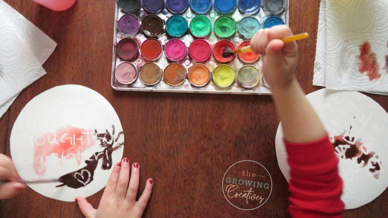 Secret Message Valentine's Day Craft for Toddlers