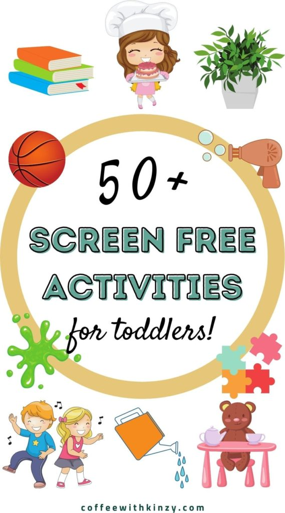 Screen Free Things to Do At Home With Toddlers